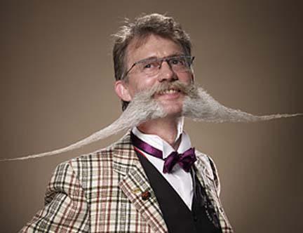 Crazy Moustache